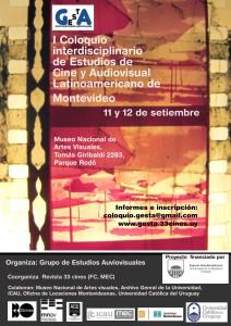 Coloquio GEstA Afiche